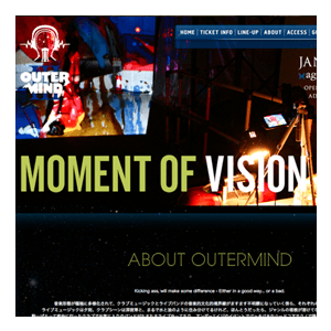 OUTERMIND OFFICIAL WEB SITE